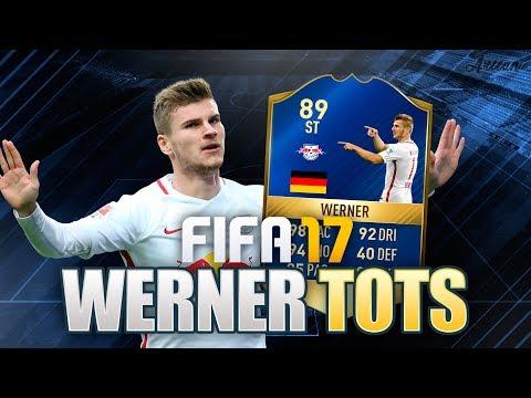 TOTS WERNER ¿MERECE LA PENA? - REVIEW | FIFA 17 Ultimate Team