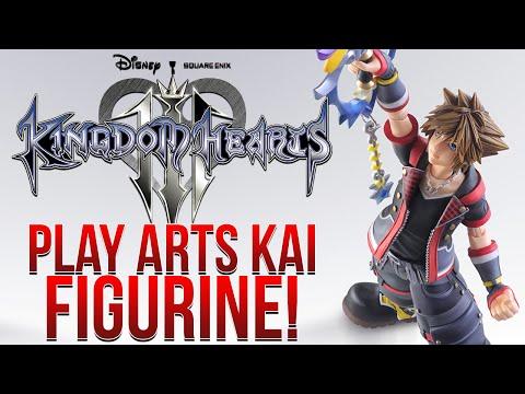 Kingdom Hearts 3 - Play Arts Kai Sora!