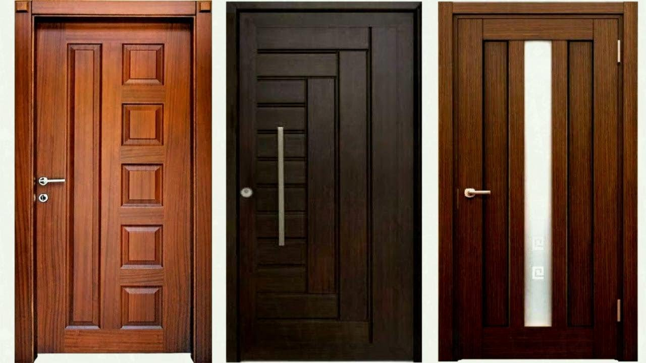 Modern Front Door Design Wooden Doors