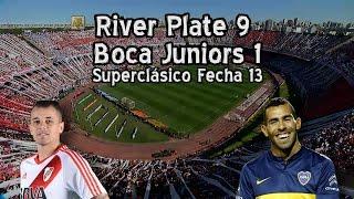 River 9 Boca 1 - Superclásico fecha 13 (Parodia)