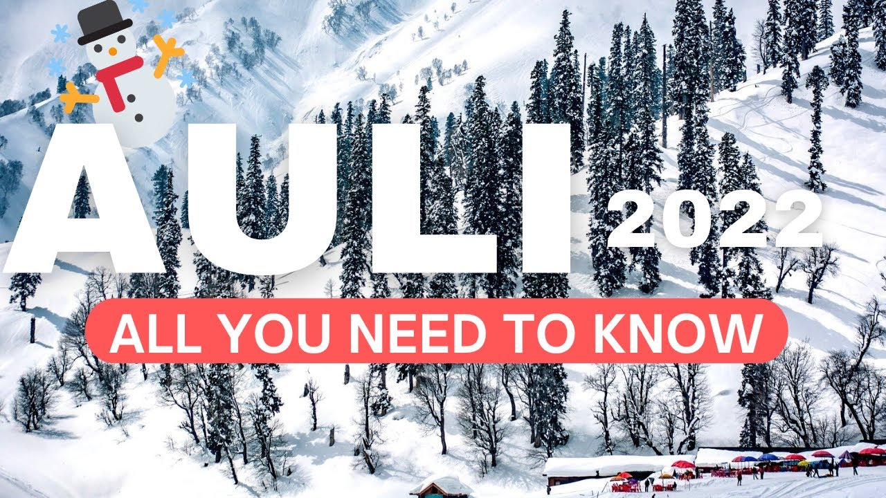 Download Auli Tourist Places   Auli Travel Guide With Budget   How To Reach Auli Joshimath Uttarakhand