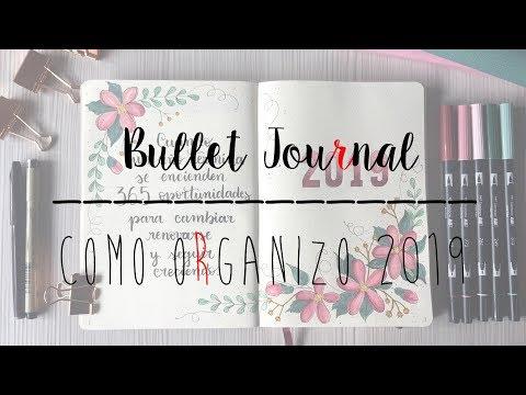 BULLET JOURNAL SETUP 2019 [TresTulipanesRojos]