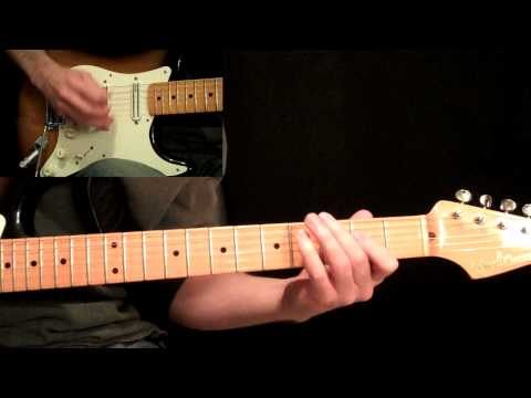 Stevie Ray Vaughan - Pride And Joy Close-Up Guitar Performance By Carl Brown