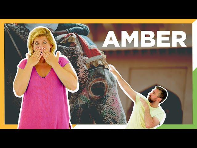 Amber - Visita al Fuerte de Amber - Rajastan - Viaje por India - ZXM #3