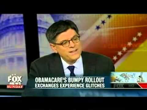 Lew Refuses To Discuss ObamaCare Enrollees