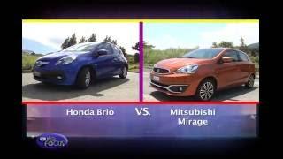 Honda Brio vs Mitsubishi Mirage -  Head 2 Head
