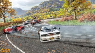 Forza Horizon 4 Drift JDM Car Show! 500k Drift Event, Tandem Montage, City Drifting And More!