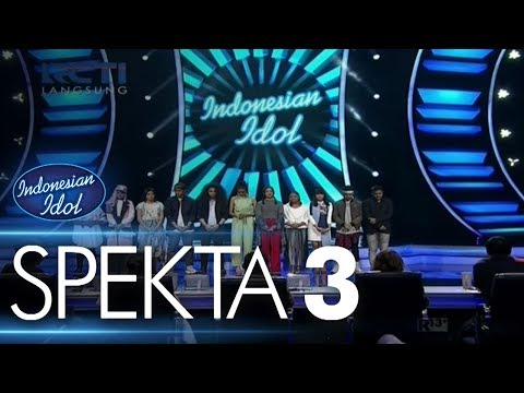 TEMPORARY RESULT - SPEKTA 3 - Indonesian Idol 2018