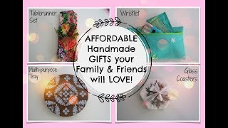 DIY AFFORDABLE CHRISTMAS GIFTS PEOPLE WANTS!