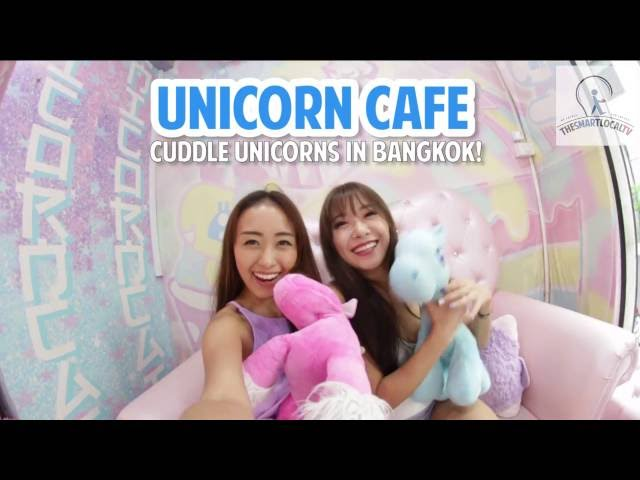 Unicorn Cafe - Cuddle Unicorns In Bangkok!