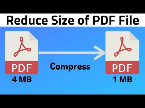 How to Compress PDF File Size | Reduce Size of PDF File