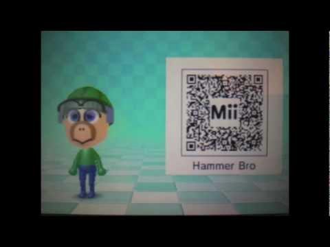 super-mario-bros-mii-qr-codes