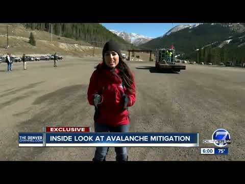 Denver7 crew gets exclusive look into CDOT's avalanche mitigation process