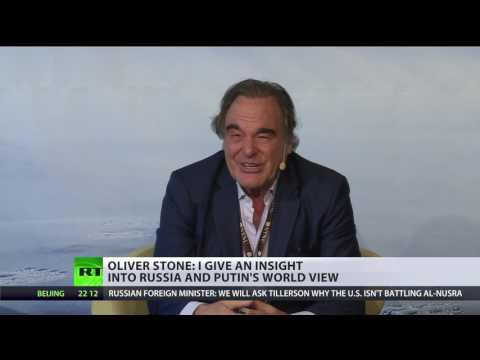 'Putin's body language tells more than words' - Oliver Stone