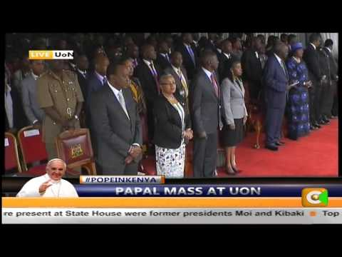 Papal Mass At The UON, #PopeInKenya