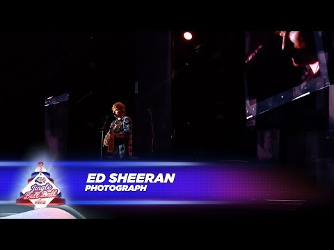 Ed Sheeran - 'Photograph' - (Live At Capital's Jingle Bell B