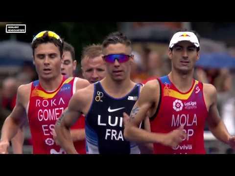 Triathlon WTS Grand Final - Sprint Finish at WTS Rotterdam 2017 (HD)