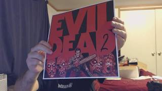 Vinyl Record Package #8 Evil Dead 2 Vinyl Record Unboxing (Waxwork)