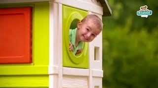 Dětský domeček na pilířích Pilings House Smoby s 1