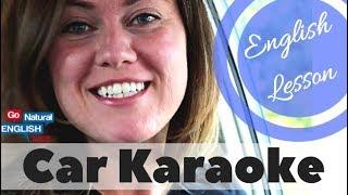 CAN vs CAN'T English Pronunciation Lesson & Car Karaoke