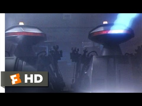 Chopping Mall 1986  Killbots Attack  49  Movies