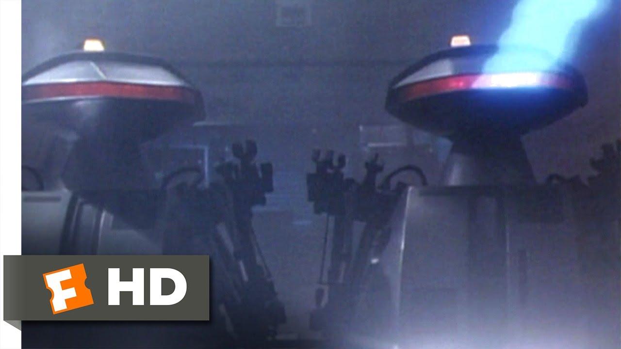 Download Chopping Mall (1986) - Killbots Attack Scene (4/9)   Movieclips
