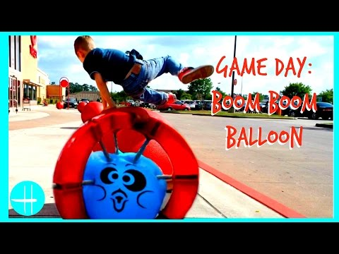 Boom Boom Balloon Will it Trampoline? Best Family fun game for kids | hopes vlogs