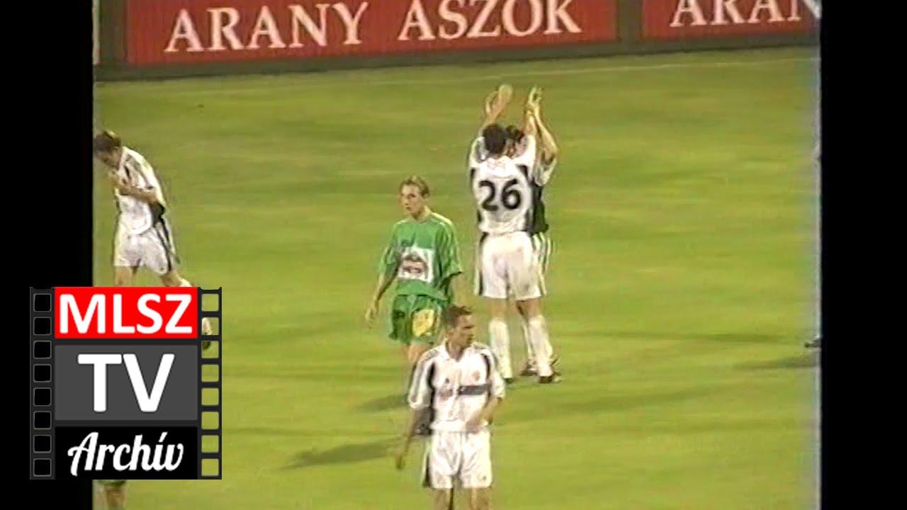 Ferencváros-Haladás | 4-0 | 2000. 07. 22 | MLSZ TV Archív