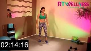 10 Minute Power Workouts in Real Time - Advanced Level Ep1. Rachel Tinker / RTWellness