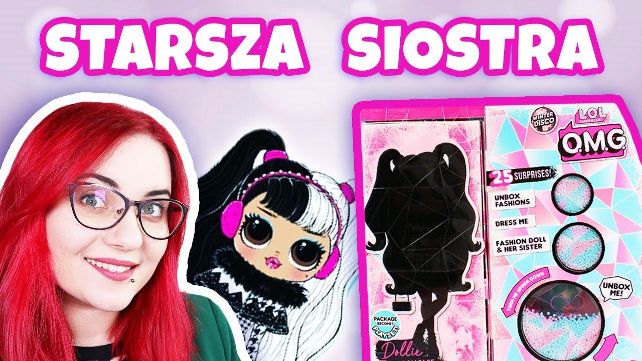 Starsza Siostra Lol Surprise Omg Dollie Winter Disco Wielka Laleczka Youtube