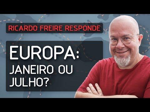 Europa: Janeiro ou Julho?