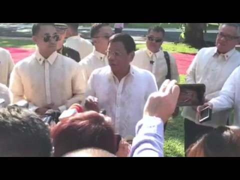 Duterte mocks Robredo proposal to decriminalize drug use