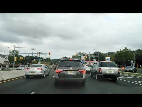 Driving From Hazlet To Middletown, New Jersey
