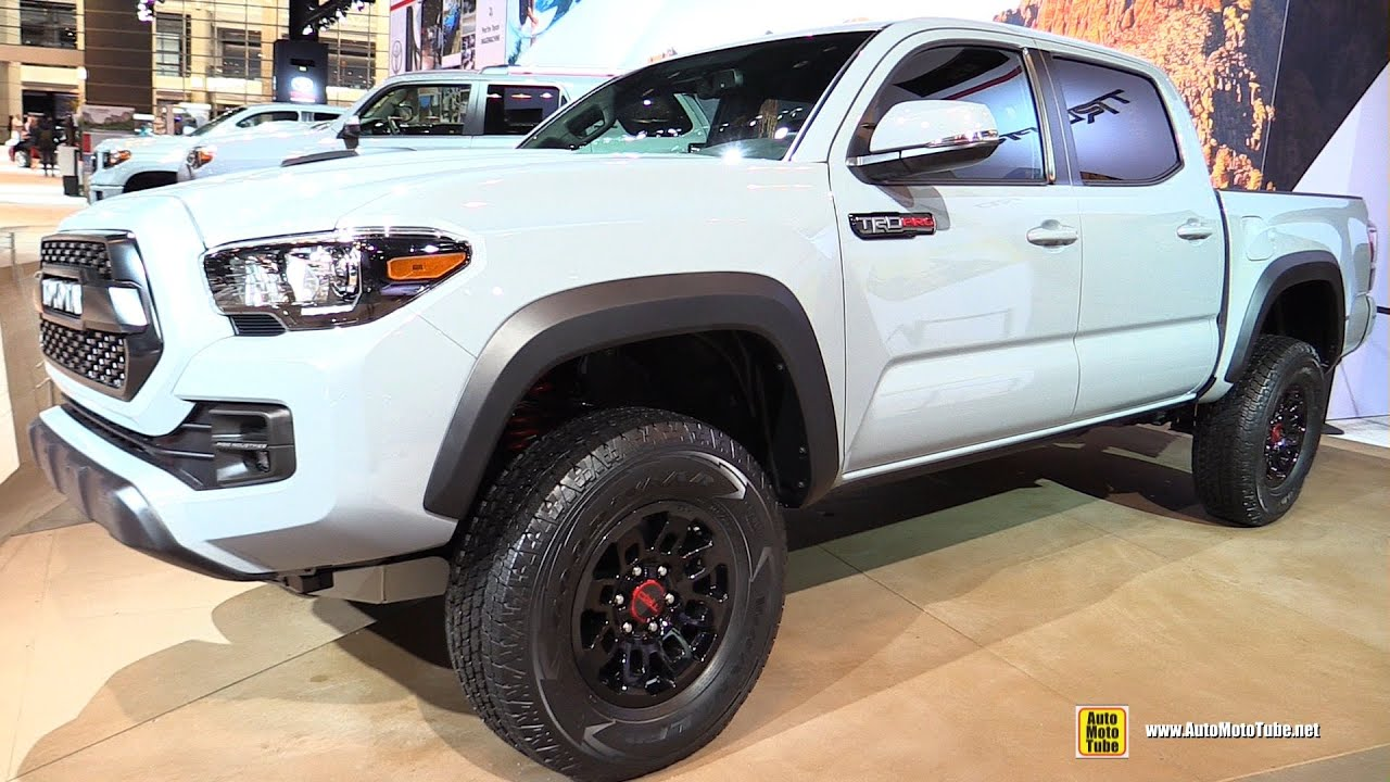 2017 Toyota Tacoma TRD Pro - Exterior and Interior ...