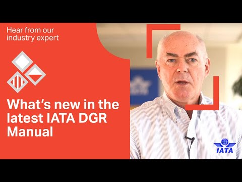 IATA DGR  Whats new in the 2020 edition?