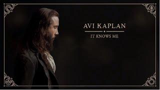 Avi Kaplan - It Knows Me (Official Audio)