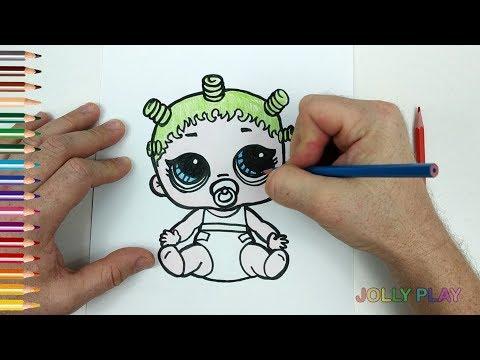 Как нарисовать лол сюрприз куклы, как сделать сюрприз ...