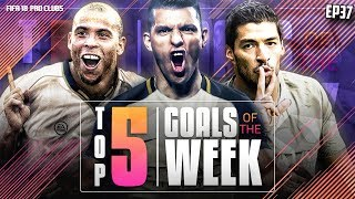 FIFA 18 Pro Clubs Top 5 Goals of the Week | #37