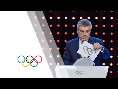 Announcement of the Host Cities for the 2022 Winter Olympics