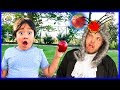 Ryan Learns about Isaac Newton and Gravity!   Educational Video with Ryan's World