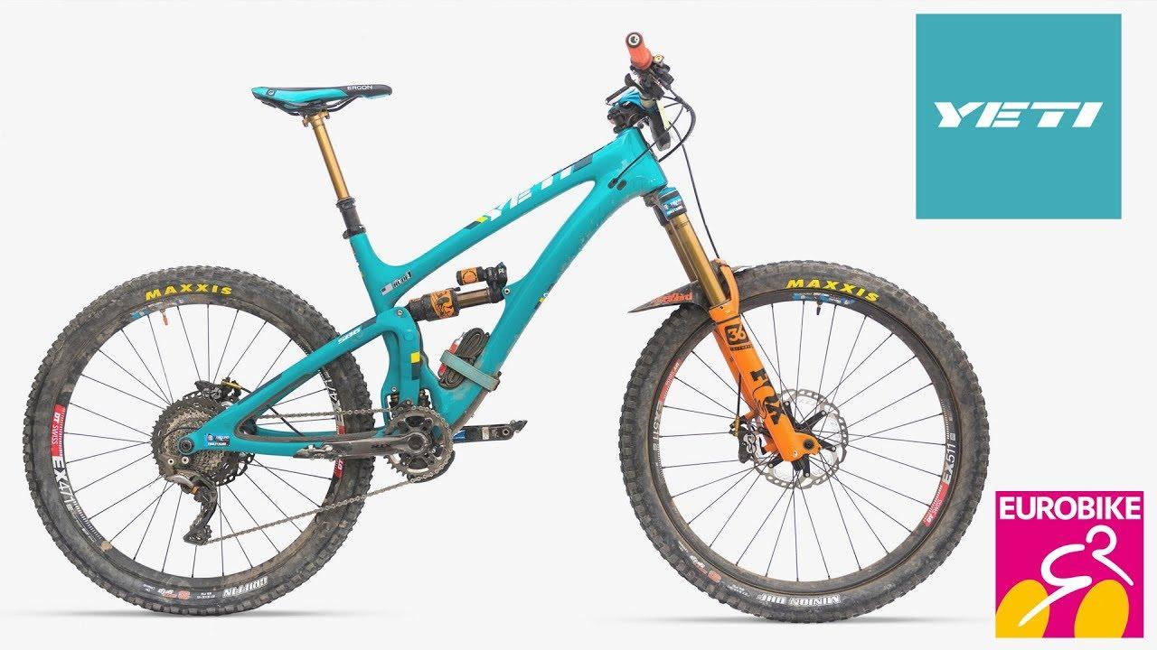 9181cddda83 New YETI Bikes 2018 - Eurobike 2017 [4K] - YouTube
