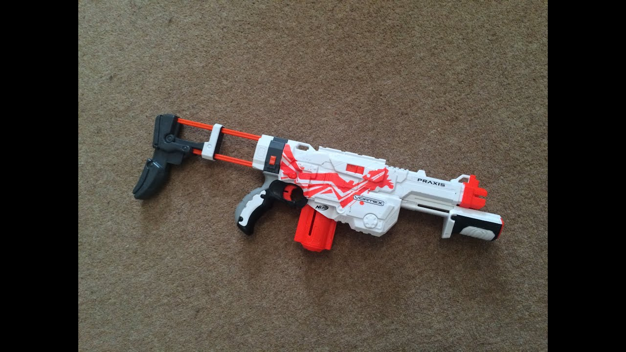 Nerf Praxis Paint Job