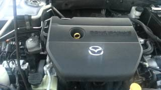 Mazda 6 engine noise.