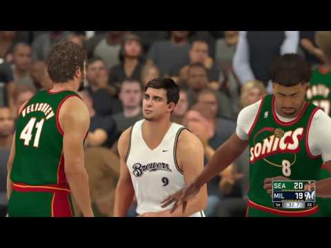 NBA PLAYOFFS Milwaukee brewers