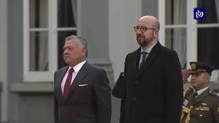 جلالة الملك يجري مباحثات مع رئيس الوزراء البلجيكي في العاصمة بروكسل - (12-12-2018)