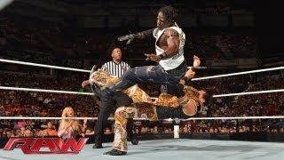 R-Truth vs. Fandango: Raw, August 12, 2013