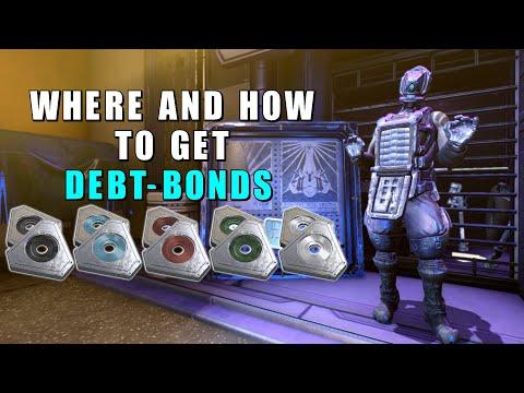 Warframe Debt-Bonds - All the ways to get all kinds