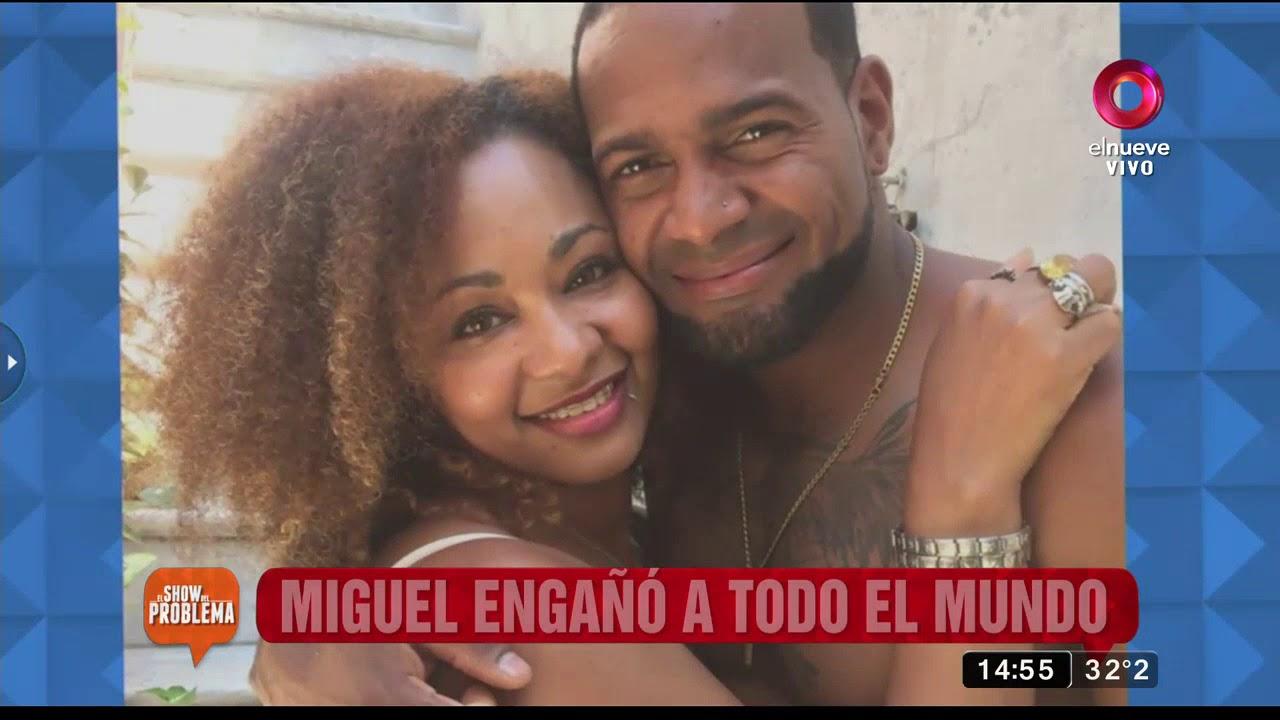 ¡Miguel abandonó a su mujer en República Dominicana para venir  a La Argentina