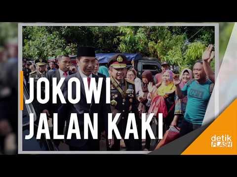 Presiden Jokowi Jalan Kaki, Panglima Gatot Minta Maaf