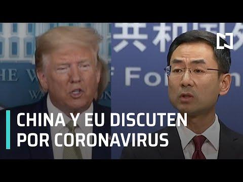 Trump: coronavirus es un virus chino I China acusa a EU de infiltrarles el coronavirus - En Punto